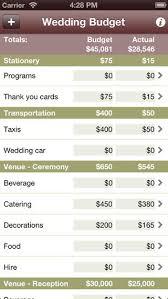 Wedding Planning Budget Calculator Best Wedding Planning Apps