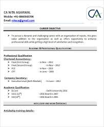 resume formatsblogspotin - Resume Format For Articleship