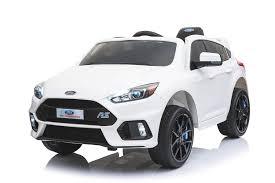 <b>Детский электромобиль Dake Ford</b> Focus RS White 12V 2.4G ...