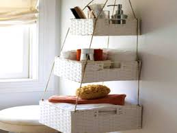 size bathroom wicker storage:  exquisite storage ideas for small bathrooms bathroom hanging baskets garage countertop bacdcdd full size