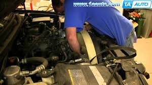 how to install replace electric radiator fan clutch 2002 06 gmc gmc envoy fan clutch wiring harness at 2004 Trailblazer Fan Clutch Wiring Harness