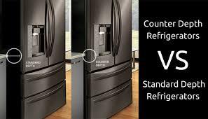 counter depth refrigerator vs standard. Counter Depth Refrigerators VS Standard Throughout Refrigerator Vs