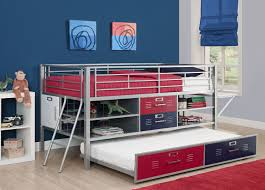 totally teen friendly decor cool but ingenious loft bed with desk storage and optional trundle