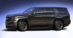 All Chevy chevy cars 2015 : 2015 Chevrolet Tahoe Black Concept Review - Top Speed