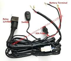 car wiring harness kit 1 lead 1 car automobile led spotlight wiring Scosche Stereo Wiring Harness at Stereo Mounting Kit And Wiring Harness
