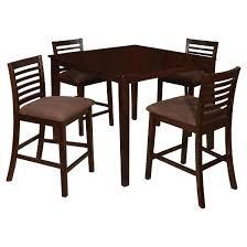 dining table 5 pc. mibasics glenwood 5pc pub dining table 5 pc