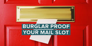 burglar proof mail slot