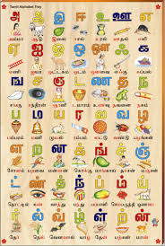 Tamil Alphabet Picture Tray Rs 545 Tamil Language