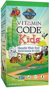 vitamin code kids garden of life
