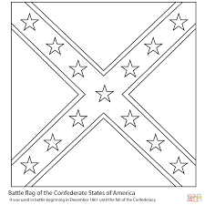 Small Picture Confederate Flag coloring page Free Printable Coloring Pages