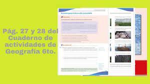 Paco el chato tareas geografia sep sexto by amandaknqrh issuu. Pag 27 Y 28 Del Cuaderno De Actividades De Geografia Sexto Grado Youtube