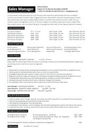 Sales Manager Resume Examples Best Of Industrial Sales Manager Resume National Sales Director Resume