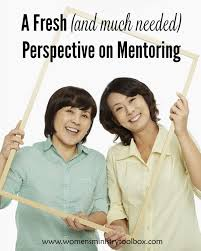 a fresh and much needed perspective on mentoring