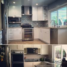 Double Oven Kitchen Design Before After Kitchen Remodel Pictures 1 Whirlpool Double Oven