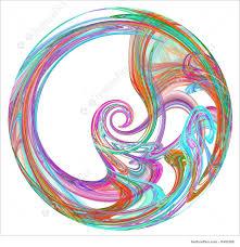 Spiral Design Blur And Bokeh Colorful Spiral Design Element