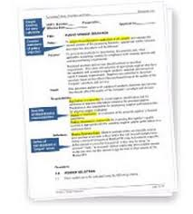 procedure drafting using the process approach vendor selection procedure