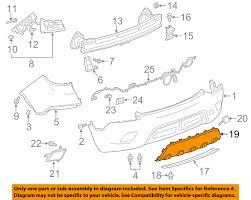buick gm oem 13 16 encore rear bumper skid plate 25980563 image is loading buick gm oem 13 16 encore rear bumper