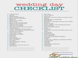 Checklist For Wedding Day Day Of Wedding Coordinator Checklist Under Fontanacountryinn Com
