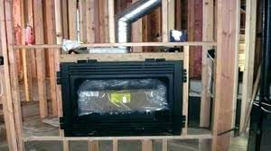 vented fireplace napoleon infrared direct vent large deluxe gas insert with logs log installation i
