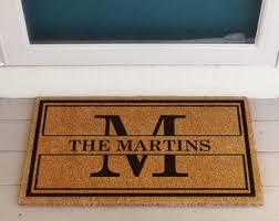 Image Front Door Custom Doormat Custom Door Mat Coir Personalized Doormat Coir Door Mat Coir Custom Doormats For Outside Front Door Decor Etsy Personalized Doormat Etsy
