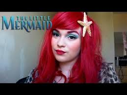 ariel the little mermaid make up tutorial magic and beauty