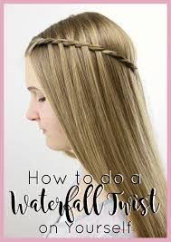 Hairstyle Yourself how to do a waterfall twist on yourself babes in hairland 6815 by stevesalt.us
