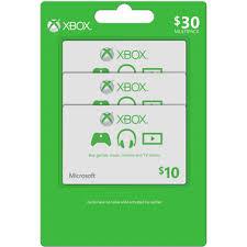 Microsoft Giftcard Xbox Live Microsoft Gift Card Multipack Music Gaming