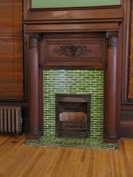 beautiful fireplace surrounds ideas for your family room design green tile fireplace surrounds ideas with