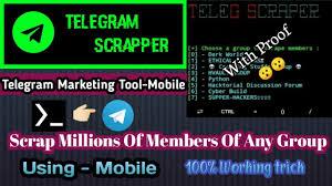 telegram members ser tool