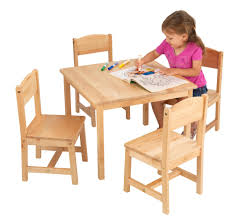 kids table and chair set wood elegant childrens wooden table and chairs set in dining give