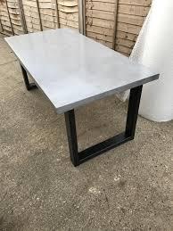 concrete dining table. Concrete Dining Table I