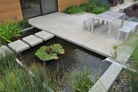 Small Picture Minimalist Garden Design