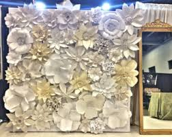 buy paper flower backdrop i was inspired by chanel s spring runway show and the absolutely striking paper flower backdrop