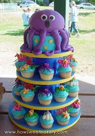 Party Ideas The Best Under The Sea Birthday Cakes Its All About