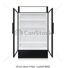 現実的 コマーシャル 冷蔵庫 空