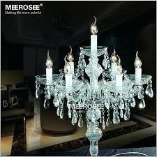 mini chandelier centerpieces whole crystal table top chandelier candelabra wedding pertaining to brilliant home table chandelier