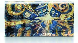 doctor who van gogh exploding tardis purse pre order