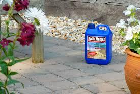 patio magic bottle sat on a patio
