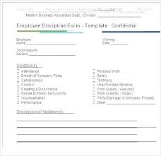 Written Verbal Warning Sample Disciplinary Action Form Employee Write Up Sample Pdf Plate