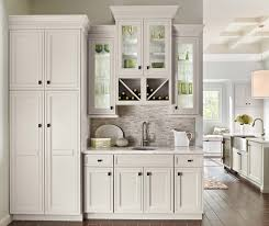 white kitchen cabinets. Wet Bar Area In Kitchen With Off White Cabinets T