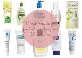 top 10 best moisturizer for oily skin in