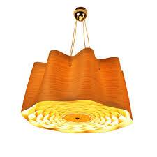 Großhandel Moderne Wohnzimmer Ring Kronleuchter Lustre Holz Restaurant Hängelampe Nordic Design Teelichter Holz Haut Leuchten Von Haoxinlamp 44104