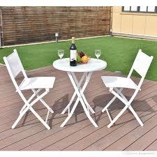 2018 folding bistro table chairs set garden backyard patio furniture white new from hongxinlin21 76 38 dhgate com