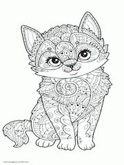 Now print as many of the black and white coloring sheets. 100 Animal Coloring Pages For Adults Difficult