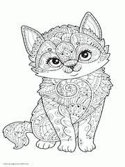 39 видео 3 036 просмотров обновлен 16 июл. 100 Animal Coloring Pages For Adults Difficult