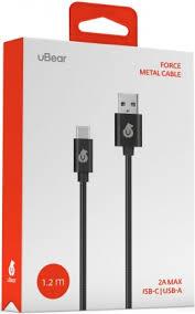 <b>uBear Force</b> USB-<b>Type</b>-<b>C</b> 1м металлическая оплетка Black - цена ...