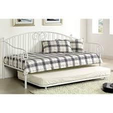 Wooden Daybed With Pop Up Trundle Bed \u2014 Loft Bed Design ...