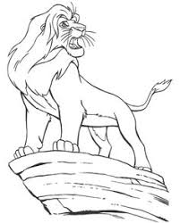 Small Picture Lion King Coloring Pages Free Printable Download Drawing and