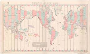 Time Zone Chart Of The World 1944 World Standard Time