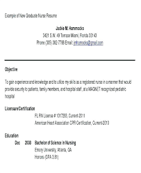 Nursing Resume Templates Free Sample Nursing Resume Objective Resume Building Nurse Resume ...